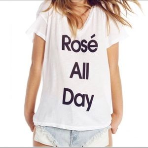 Wildfox Rose' all Day Tee
